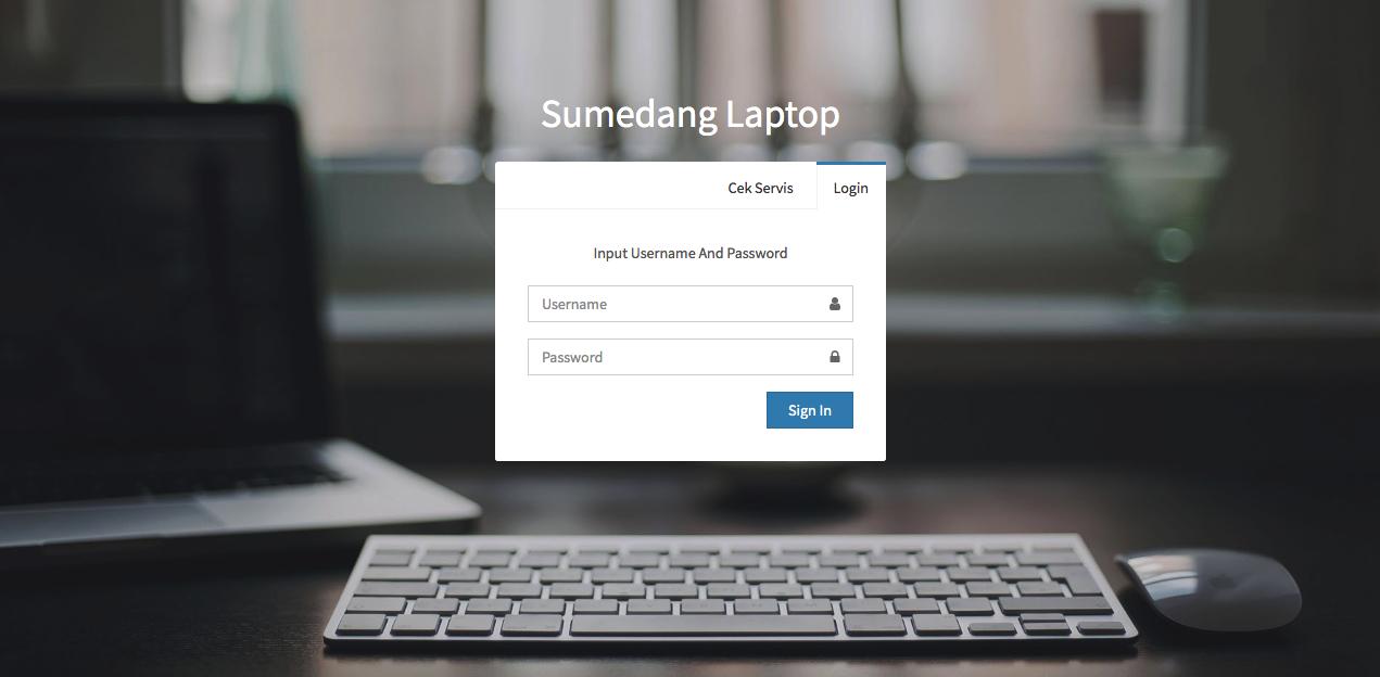 Aplikasi Service Laptop Murah