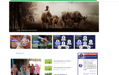 Pembuatan Website Desa