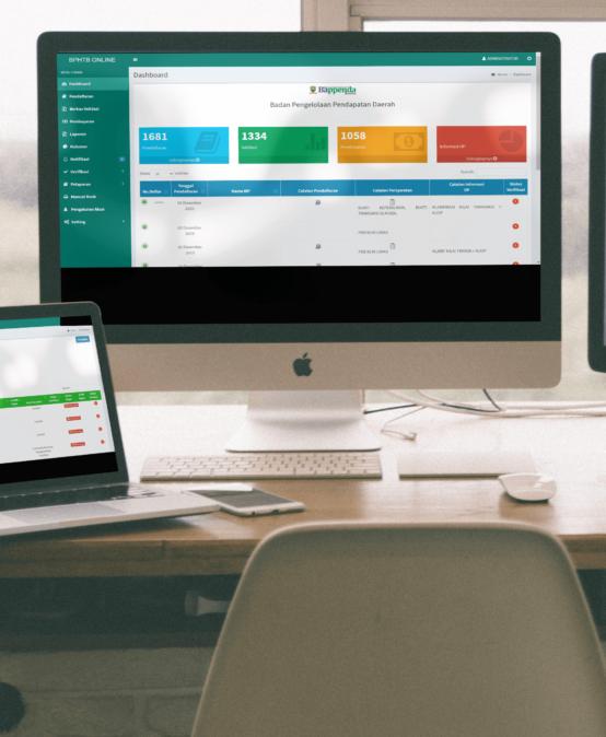 Aplikasi Pajak E-BPHTB Terintegrasi 2020