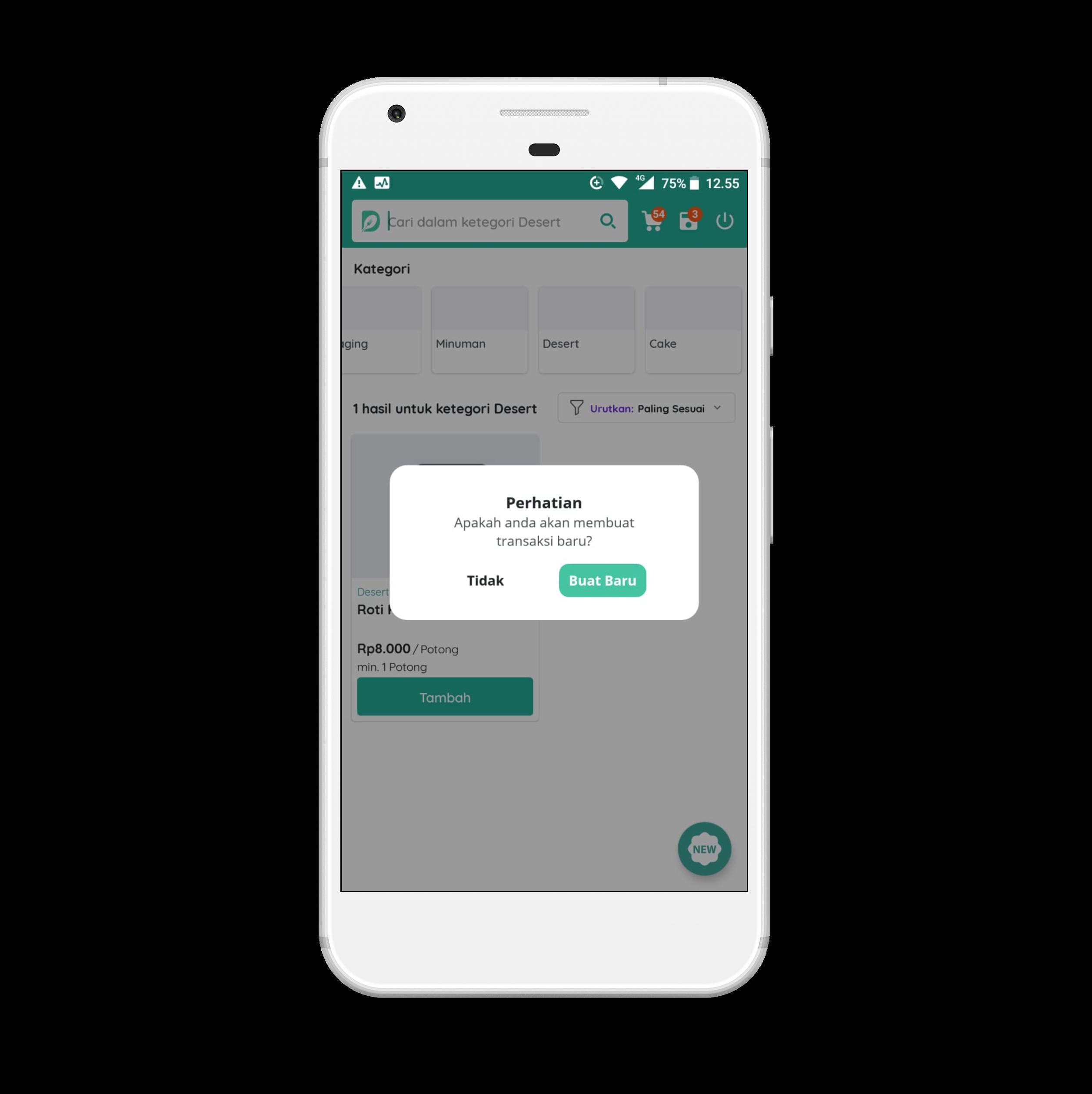 Aplikasi SMART RESTO Versi Android